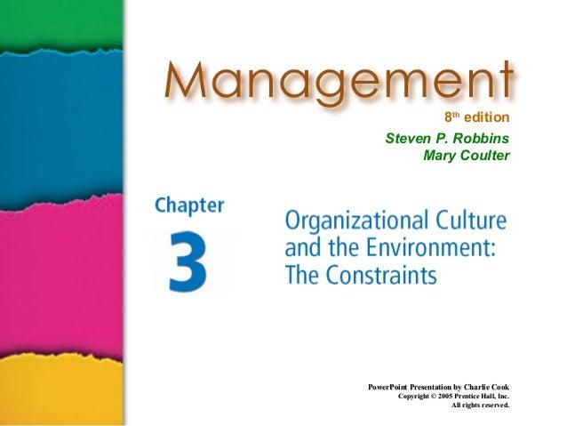 Management ch3