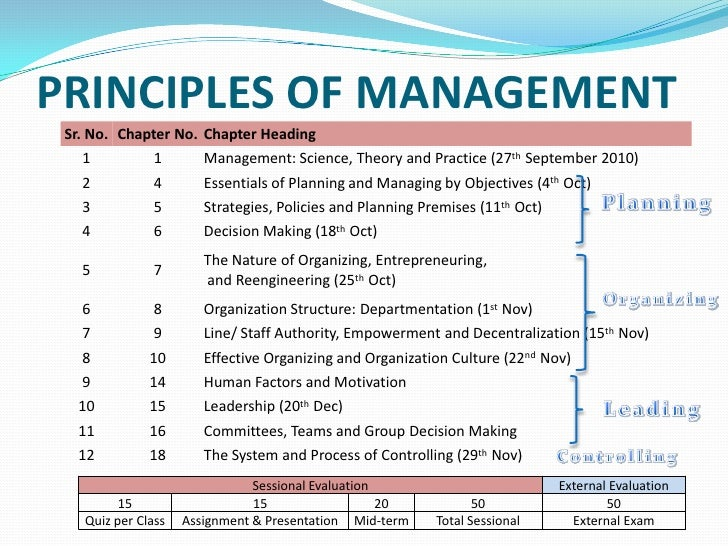 Management chap 11 committees