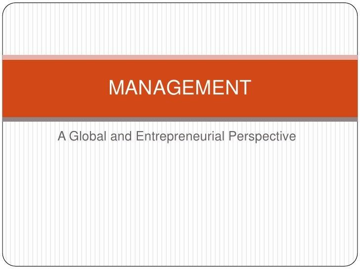 Management chap 6