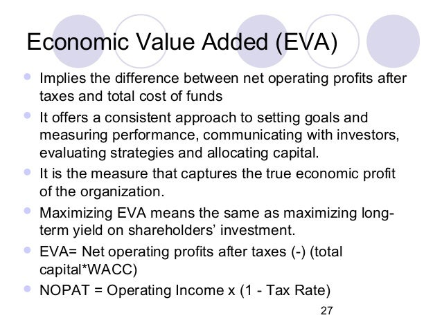 economic value added case study analysis In corporate finance, economic value added (eva) is an estimate of a firm's economic profit economic value added: a simulation analysis of the trendy.