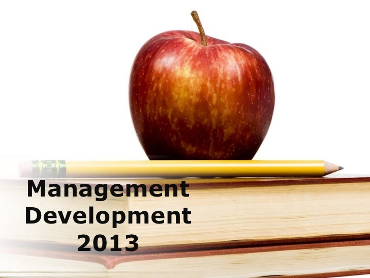 ManagementDevelopment   2013