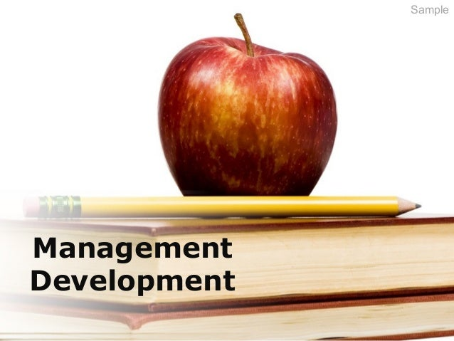 Management Development Sample