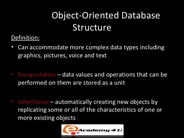 an analysis of object oriented database management systems in middle 80s