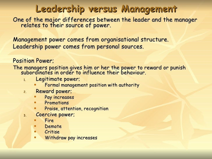 difference between leadership and management essay for sale