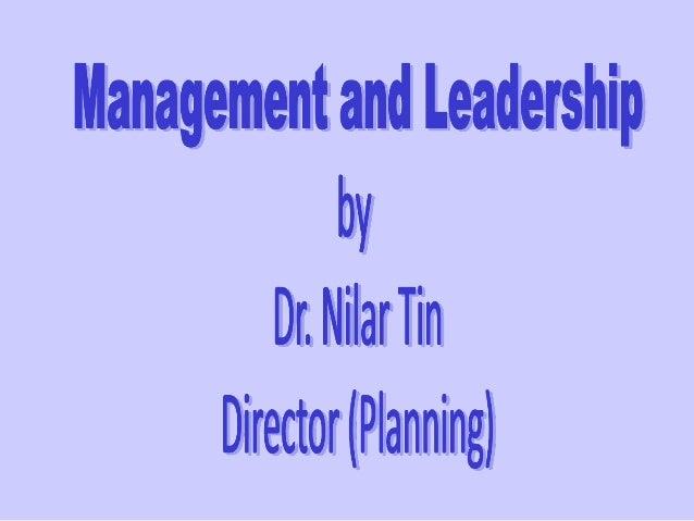 Management What is Management?  Management is getting things done.  Management is getting thing done through people.  M...