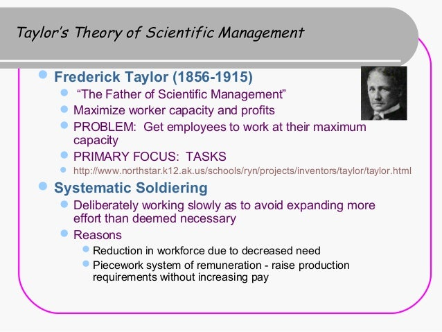 frederick taylor s four principles of managment and contribute The principles of scientific management [frederick winslow taylor] on amazon com  taylors book has had such an impact on the modern management ideas  that  to the management of industrial processes and is based on four principles.