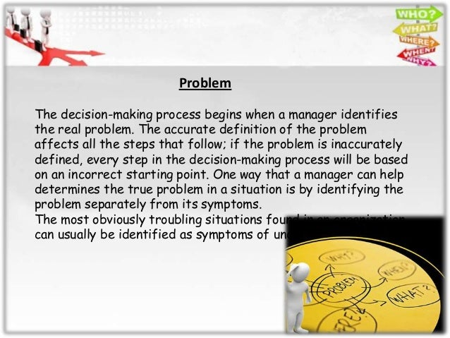 political decision making process essay Clinical decision making and the nursing process disclaimer: this essay has it is important to remember at all junctures of this decision-making process.