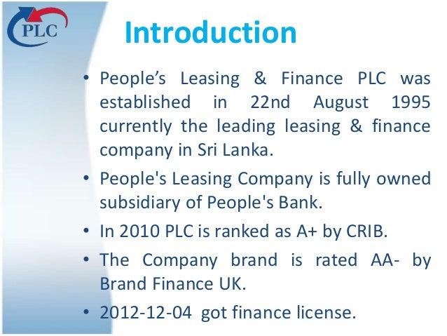 Finance Company Finance Company in Sri