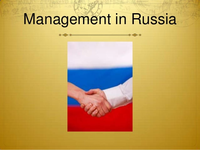 Management in Russia
