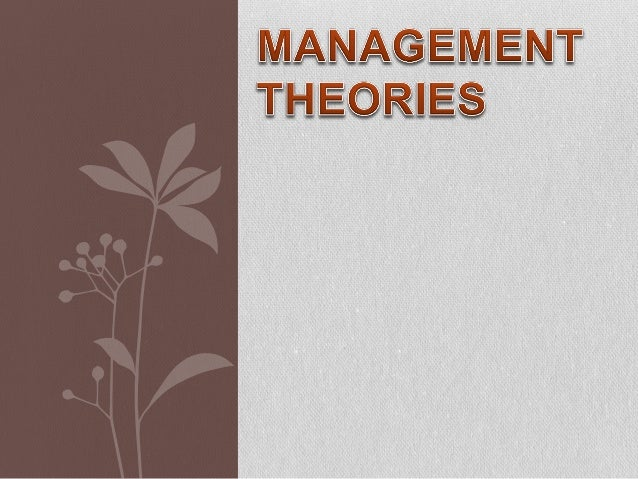  are sets of ideas and rules that are designed to help in management.  facilitate proper management in planning, organis...