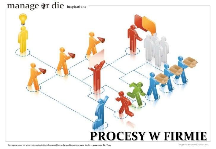Procesy w firmie, wstęp do BPM - Manage or Die Inspiration 2010