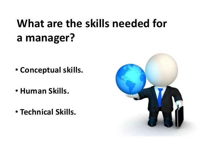managerial skills - Different Types Of Technical Skills
