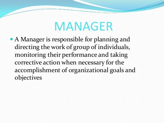 the roles of managers and individuals Case managers and counselors are important parts of health-care and social services delivery although case managers may offer advice and suggestions to clients, their primary role is to facilitate in assessment, care planning, facilitation, care coordination and advocacy for individuals and .