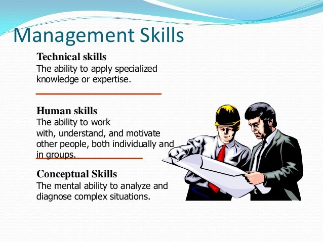 the importance of managerial skills essay The importance of stress management stress today can be described as that which disturbs a person's mental and physical well-being (morrison 1) common symptoms of stress include chronic fatigue, changes in appetite, drug and/or alcohol abuse, difficulty sleeping, body aches, and changes in emotions (cooper 1-2.