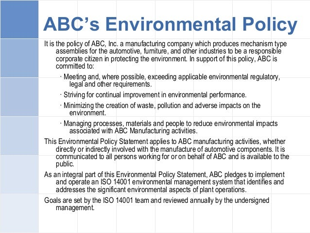 abc manufacturing company essay This changes or explains using abc manufacturing company this company is a leading company in the hong this management essay was submitted to.