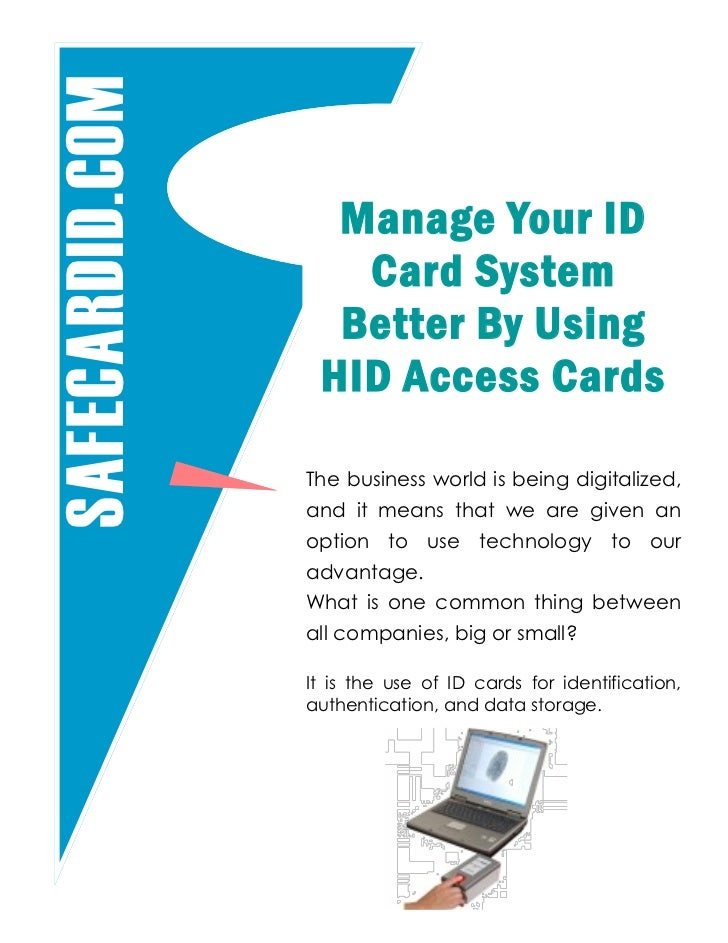 manage your id card system better by using hid access cards