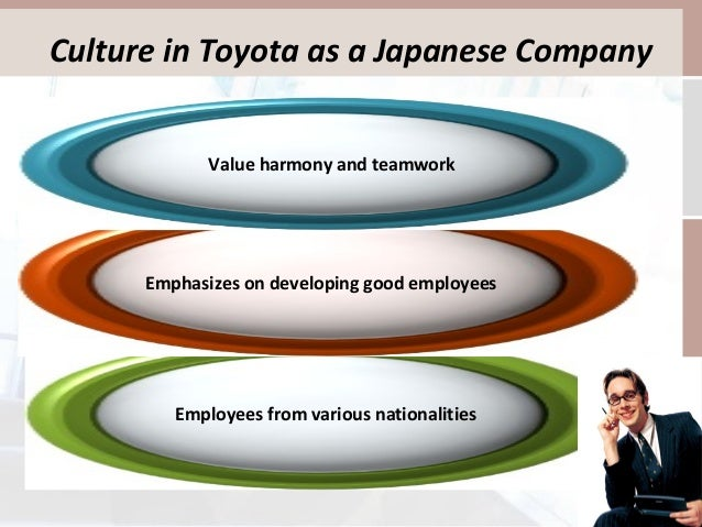 organizational culture of toyota analysis Analysis of change initiative at toyota motor corporation management  foster  a corporate culture that enhances individual creativity and.
