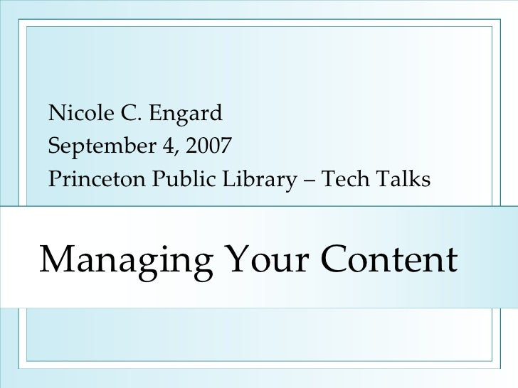 Managing Your Content: Everything You Need to Know about the CMS