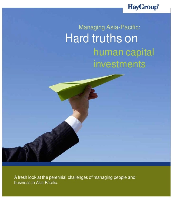 Managing Asia-Pacific:                              Hard truths on                 ...