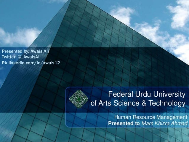 Presented by: Awais Ali Twitter: @_AwaisAli Pk.linkedin.com/in/awais12  Federal Urdu University of Arts Science & Technolo...