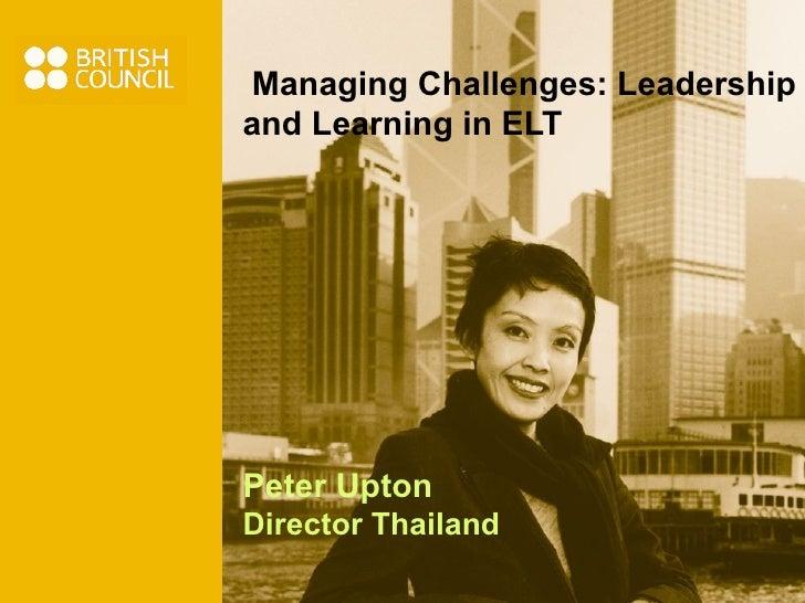 Managing Challenges