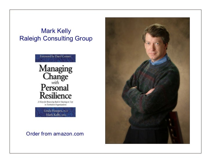 Mark KellyRaleigh Consulting Group  Order from amazon.com