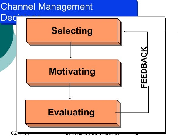 going to market managing the channel Multichannel marketing refers to the practice of interacting with customers using a campaign management if you treat each channel as a distinct.