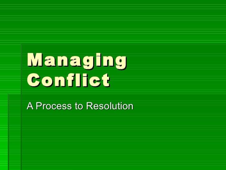 Managing Conflict2[1]