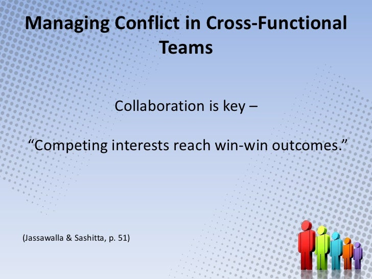 managing conflict in teams essay Managing conflict in teamsconflict exists everywhere an airplane traveling through the sky is in constant conflict with the forces of gravity and wind resistance a moving vehicle is also in conflict with surface upon which it travels.