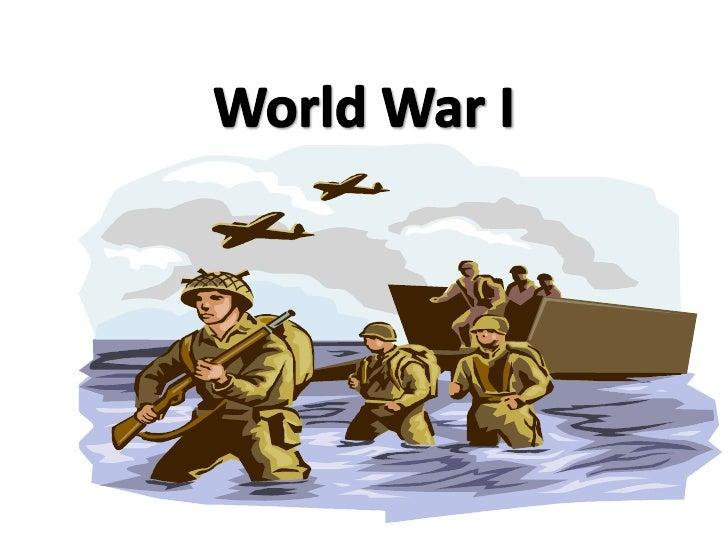 World War I<br />