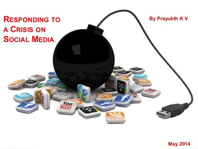 Preparing a social media crisis response plan