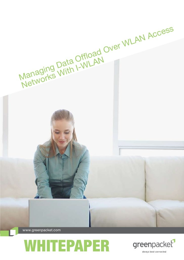 Managing data offload over wlan access networks with iwlan