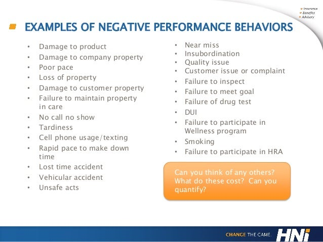 examples of negative relationship behaviors in the workplace