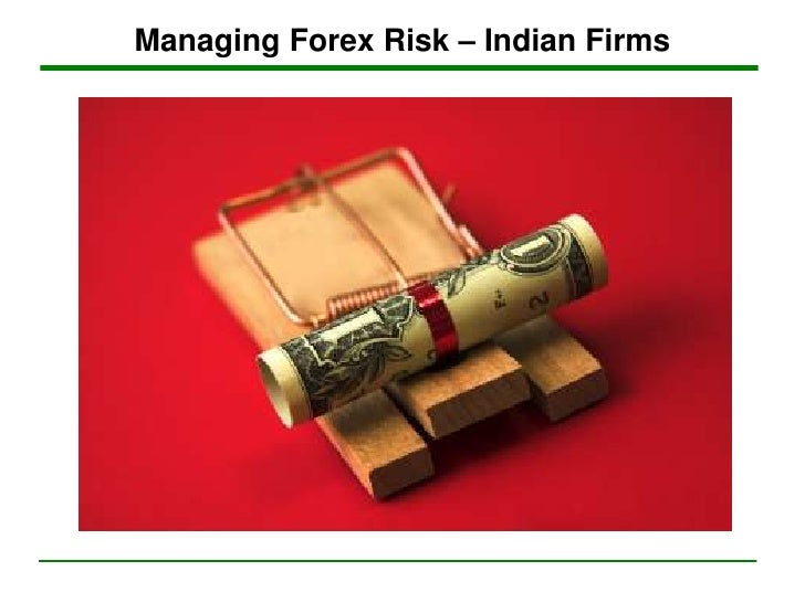 Risk management policy for forex