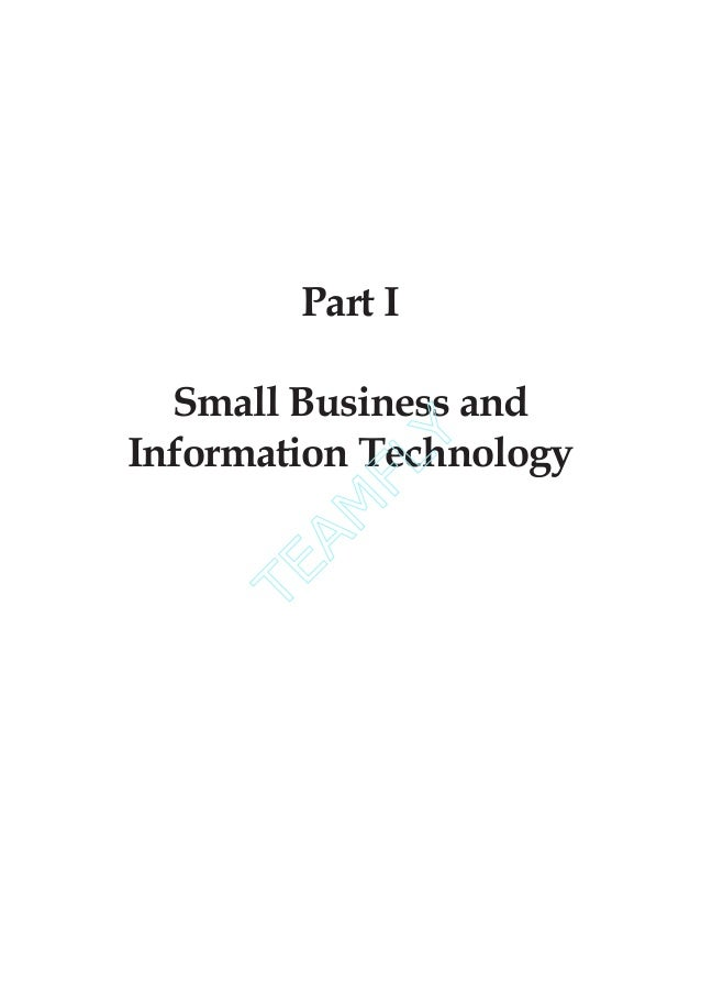 small business information technology Information security policy for small business  of small business, these information systems can  small business, describing how technology can be.
