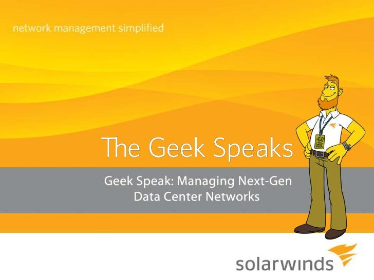 Managing Next-Gen Data Center Networks