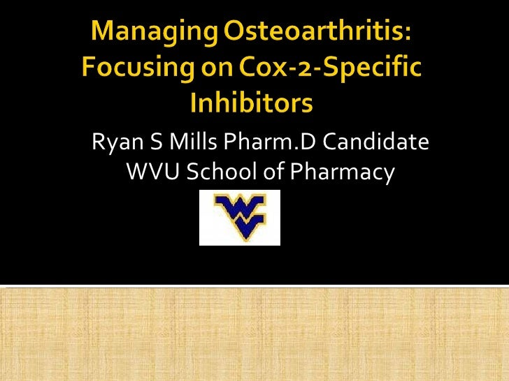 Ryan S Mills Pharm.D Candidate WVU School of Pharmacy