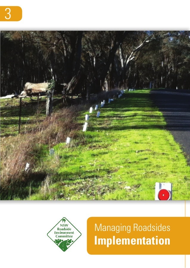 Managing Roadsides Implementation 3