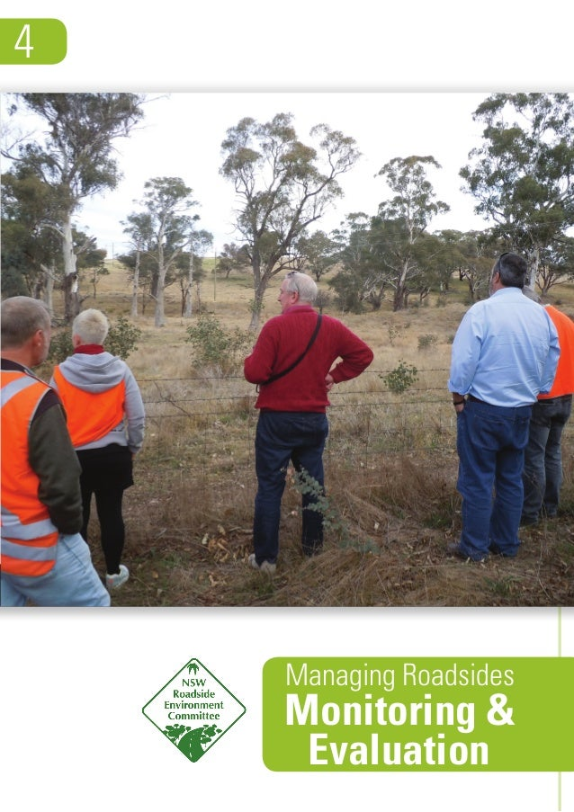 Guide: Managing roadside environments 4 - Monitoring & Evaluation