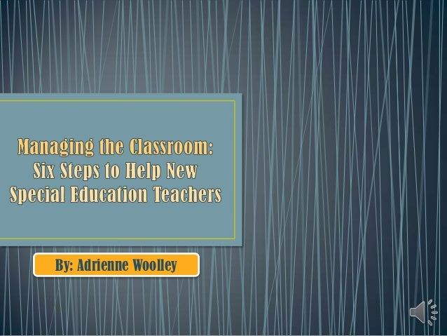 Managing the classroom (ch. 4) 2.27.13