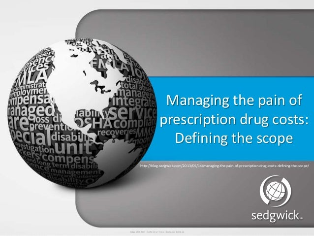 Managing the pain of prescription drug cost defining the scope