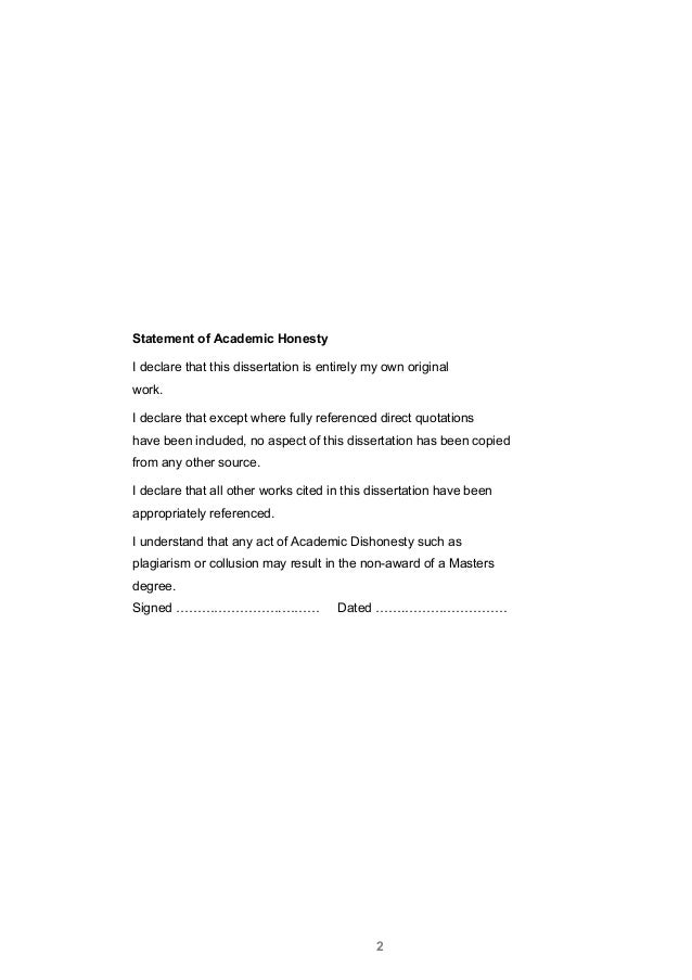 writing declaration in thesis This template provides a full framework for writing a graduate level thesis   included are the following pages/sections: a cover page, declaration of  authorship,.