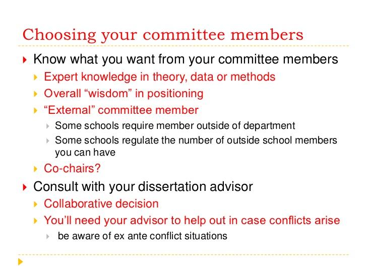 Graduate Advisory Committees - Graduate Catalog - Virginia Tech