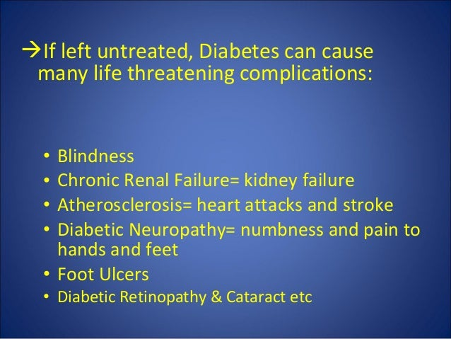 How does Diabetes Cause Blindness
