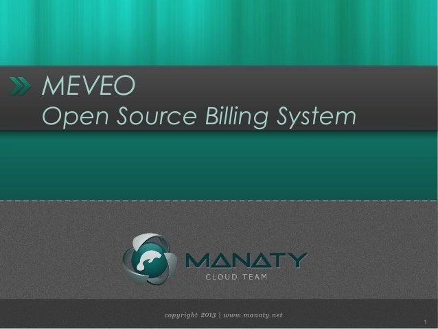 MEVEOOpen Source Billing System1