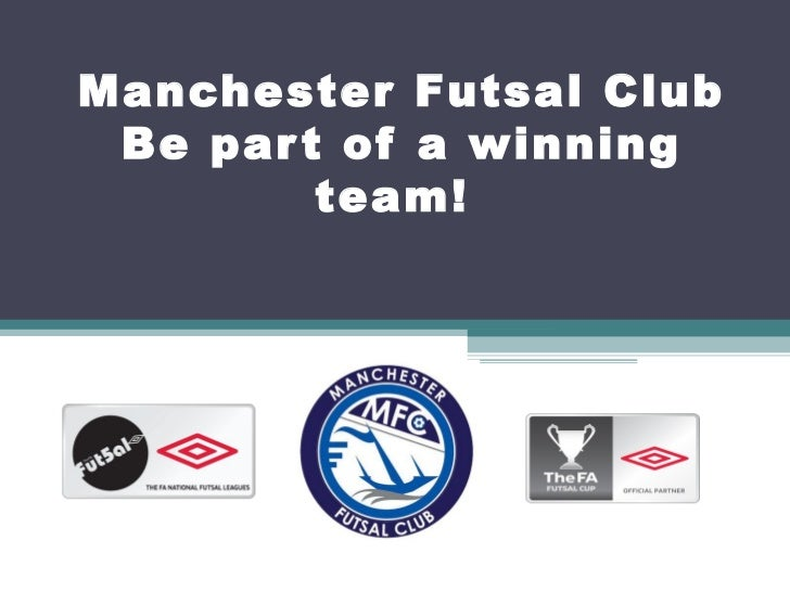 Manchester Futsal Club Sponsorship 2011/12