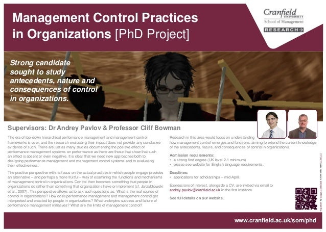 why organizations need management control What is the importance of control function in business organization - this article speaks about the controlling function of a business management it discusses the importance of controls in.