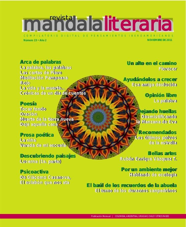 Mandala literaria no. 23