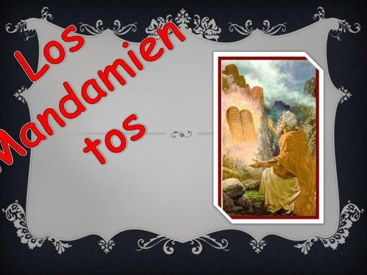 Mandamientos de la ley de dios