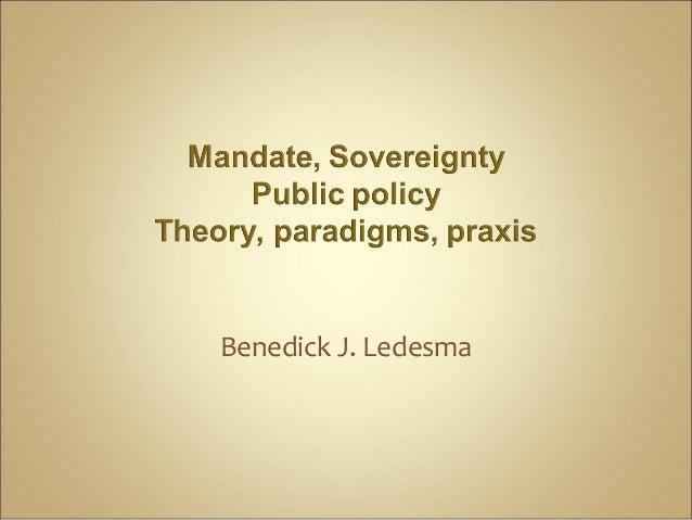 Benedick J. Ledesma